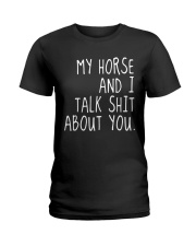 My Horse and I Ladies T-Shirt thumbnail