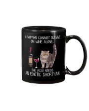 Wine and Exotic Shorthair Mug thumbnail