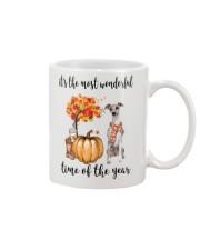 The Most Wonderful Time - Whippet Mug thumbnail
