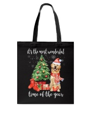 All I Want For Christmas Is Golden Retriever Tote Bag thumbnail