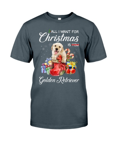 All I Want For Christmas Is Golden Retriever