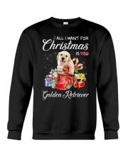 All I Want For Christmas Is Golden Retriever Crewneck Sweatshirt thumbnail