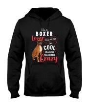 I'm a Boxer Lover Hooded Sweatshirt thumbnail