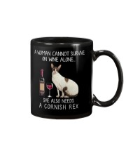 Wine and Cornish Rex Mug thumbnail