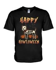 Happy Howloween - Westie V-Neck T-Shirt thumbnail