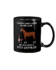 Wine and Dutch Warmblood Mug thumbnail