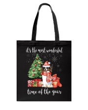The Most Wonderful Xmas - Papillon Tote Bag thumbnail