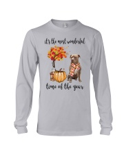 The Most Wonderful Time American Pit Bull Terrier Long Sleeve Tee thumbnail