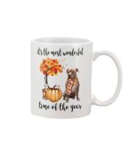 The Most Wonderful Time American Pit Bull Terrier Mug thumbnail