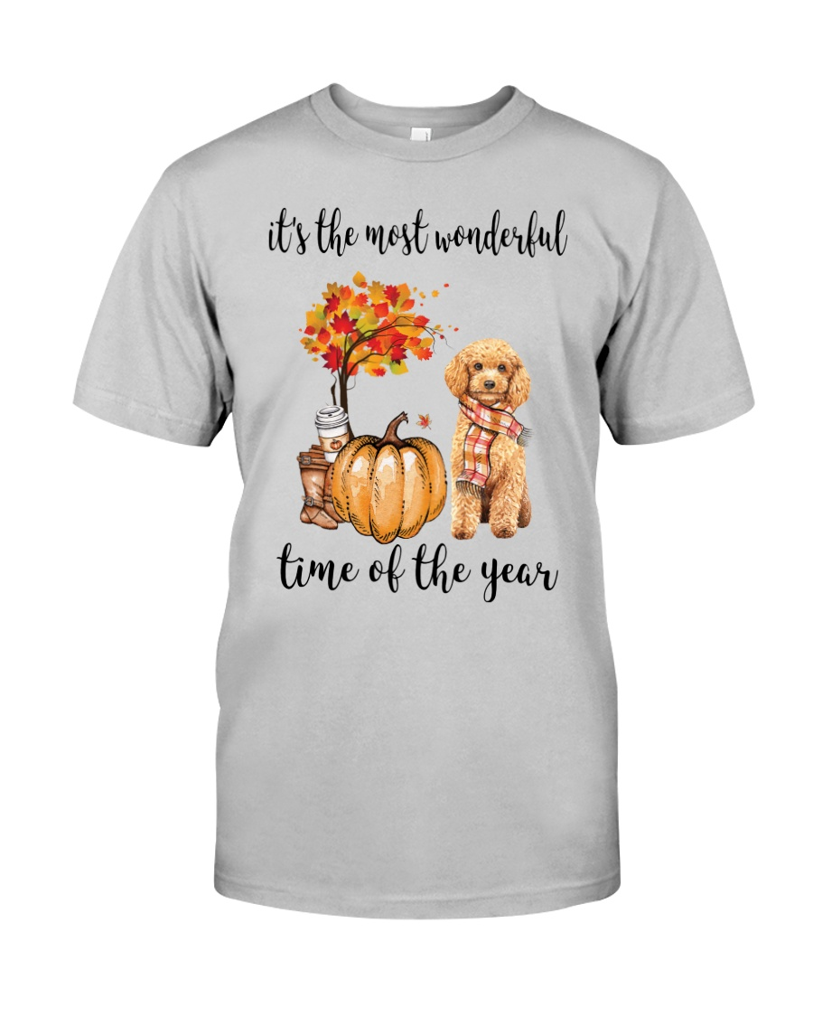 The Most Wonderful Time - Poodle Classic T-Shirt