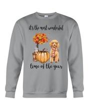The Most Wonderful Time - Poodle Crewneck Sweatshirt thumbnail