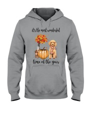 The Most Wonderful Time - Poodle Hooded Sweatshirt thumbnail