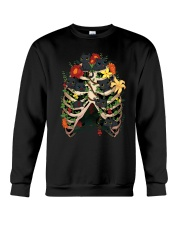 Skeleton Black Cats Crewneck Sweatshirt tile