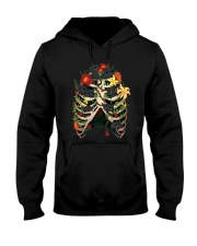Skeleton Black Cats Hooded Sweatshirt thumbnail