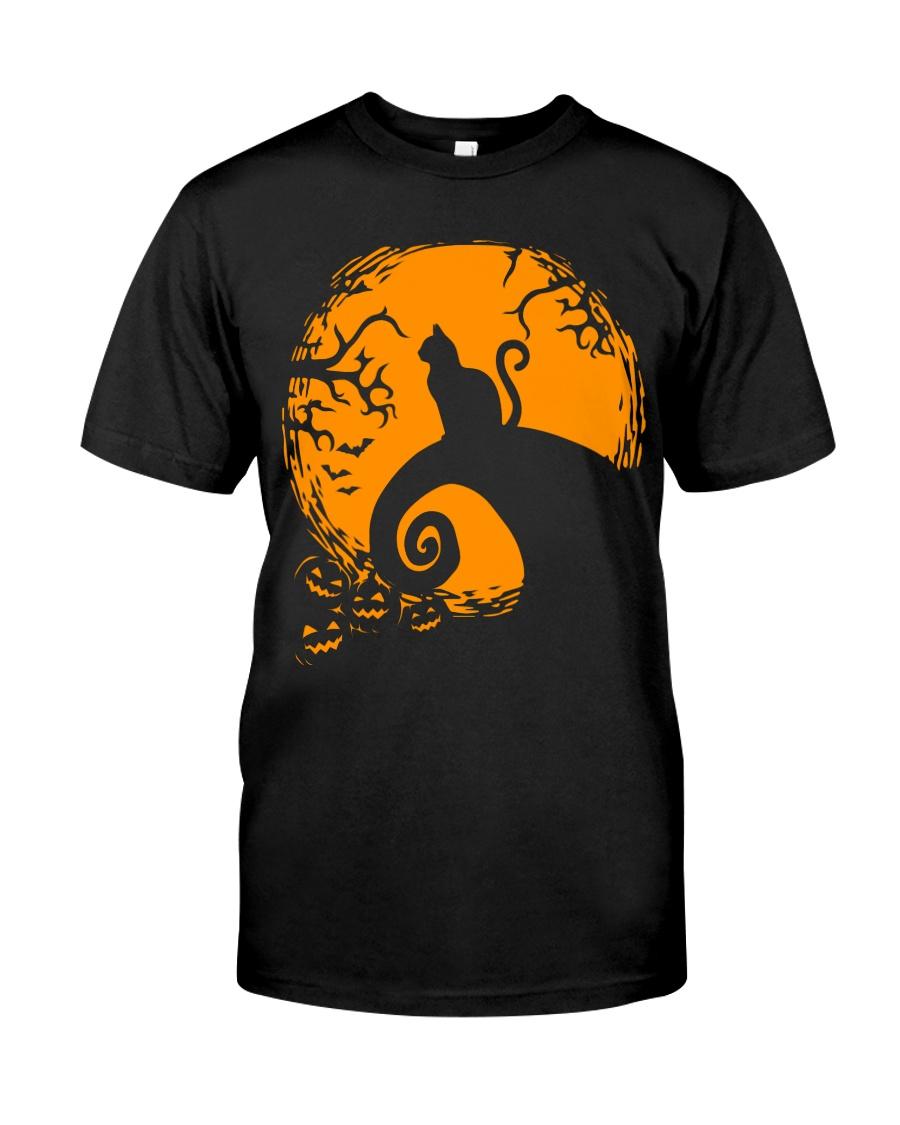 Cat Nightmare Shadow Classic T-Shirt