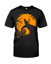 Cat Nightmare Shadow Classic T-Shirt front