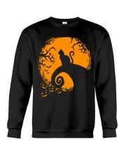 Cat Nightmare Shadow Crewneck Sweatshirt thumbnail