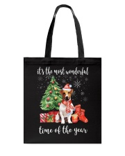 The Most Wonderful Xmas - Jack Russell Tote Bag thumbnail