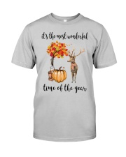 The Most Wonderful Time - Deer Classic T-Shirt front