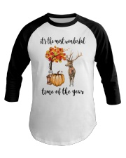 The Most Wonderful Time - Deer Baseball Tee thumbnail