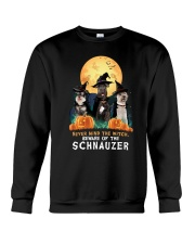 Howloween Schnauzer 2 Crewneck Sweatshirt thumbnail