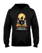 Howloween Schnauzer 2 Hooded Sweatshirt thumbnail