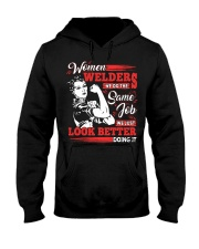 Women Welders Hooded Sweatshirt thumbnail