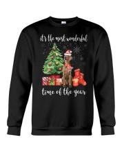 The Most Wonderful Xmas - Weimaraner Crewneck Sweatshirt thumbnail