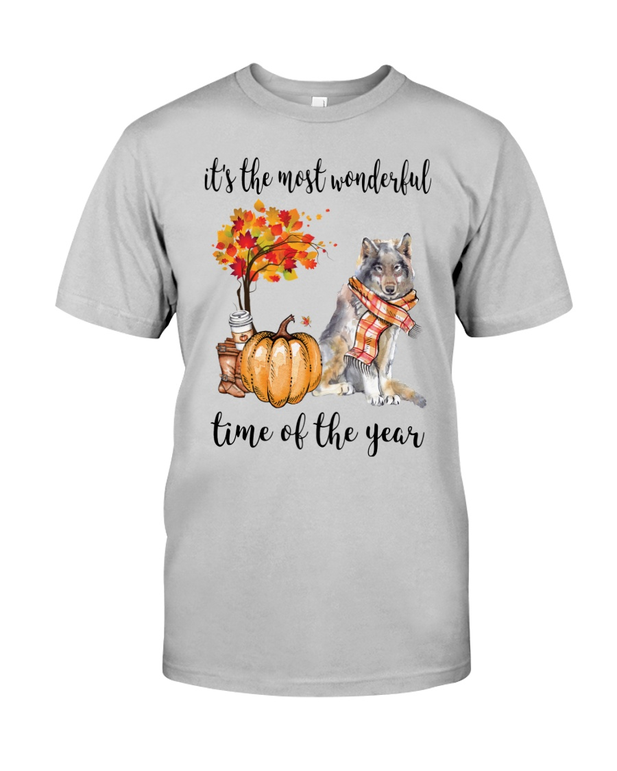 The Most Wonderful Time - Wolf Classic T-Shirt