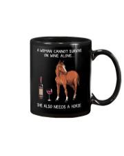 Wine and Horse Mug thumbnail