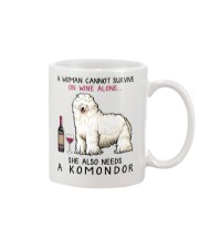Wine and Komondor 2 Mug thumbnail