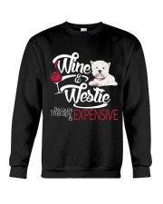 Westie - Therapy is expensive Crewneck Sweatshirt thumbnail