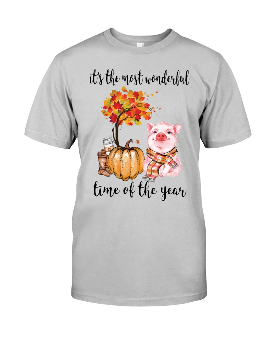 The Most Wonderful Time - Pig Classic T-Shirt