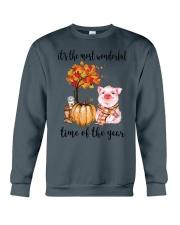 The Most Wonderful Time - Pig Crewneck Sweatshirt thumbnail