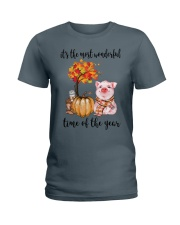 The Most Wonderful Time - Pig Ladies T-Shirt thumbnail