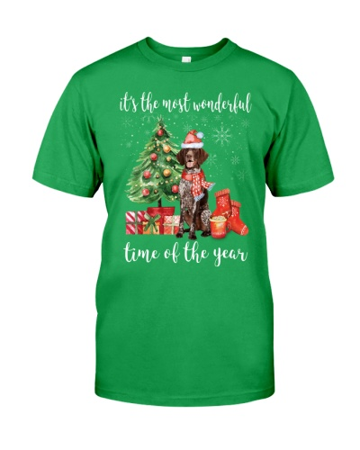 The Most Wonderful Xmas German Shorthaired Pointer