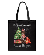 The Most Wonderful Xmas German Shorthaired Pointer Tote Bag thumbnail