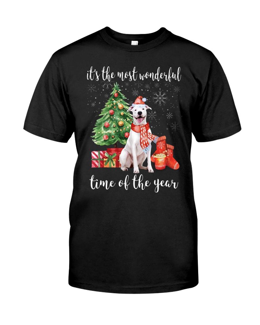 The Most Wonderful Xmas - Dogo Argentino Classic T-Shirt