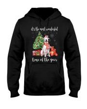 The Most Wonderful Xmas - Dogo Argentino Hooded Sweatshirt thumbnail