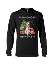 The Most Wonderful Xmas - Dogo Argentino Long Sleeve Tee thumbnail