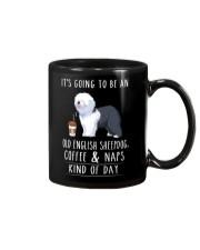 Old English Sheepdog Coffee and Naps Mug thumbnail