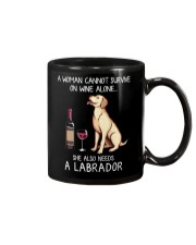 Wine and Labrador Mug thumbnail