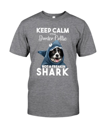 It's A Border Collie Not A Freakin Shark