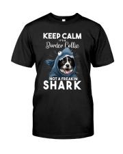 It's A Border Collie Not A Freakin Shark Classic T-Shirt front