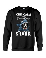 It's A Border Collie Not A Freakin Shark Crewneck Sweatshirt thumbnail