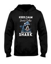 It's A Border Collie Not A Freakin Shark Hooded Sweatshirt thumbnail