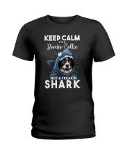 It's A Border Collie Not A Freakin Shark Ladies T-Shirt thumbnail