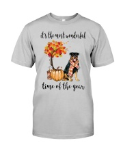 The Most Wonderful Time - Rottweiler Classic T-Shirt front