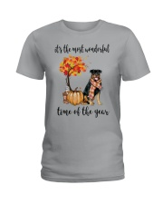 The Most Wonderful Time - Rottweiler Ladies T-Shirt thumbnail