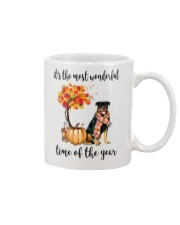 The Most Wonderful Time - Rottweiler Mug thumbnail